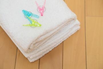 洗濯タオル 横