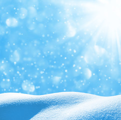 Winter festive background
