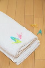 洗濯タオル