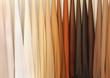 Leinwandbild Motiv Leather samples