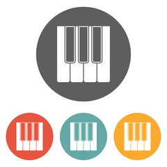 keyboard music icon