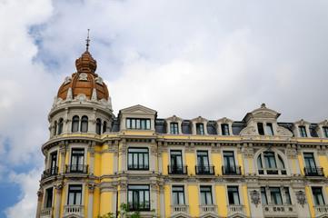 Modernist building in Oviedo, Asturias