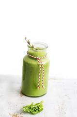 Smoothie, Spinat, grüner smoothie