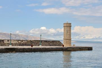 phare au bord de l'adriatique (Senj Croatie)
