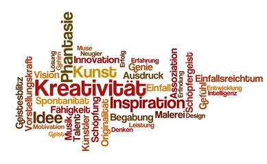 Word Cloud - Kreativität