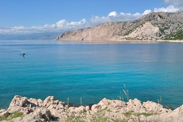 paysage littoral mer adriatique, Croatie