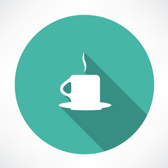 hot cup icon