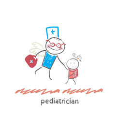 pediatrician flies to a sick child