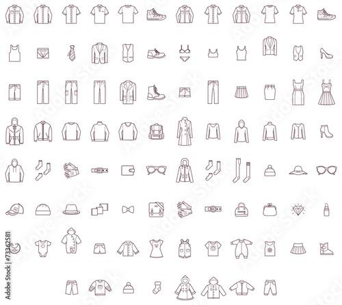 Big clothes set - 73362581