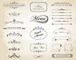 Vector Vintage Ornament Divide Border - 73362969