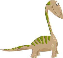 apatosaurus dinosaur cartoon illustration