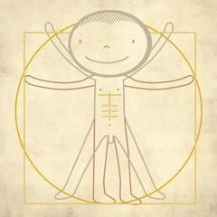Proportions De Vinci
