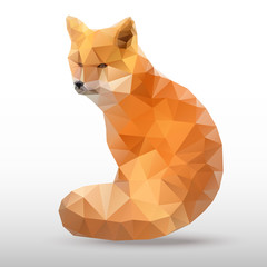 abstract polygonal Fox