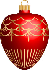 ChristmasBall Red