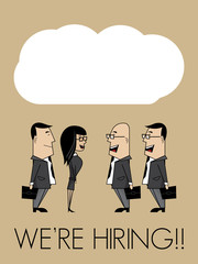We are hiring group of people  with cloud speech