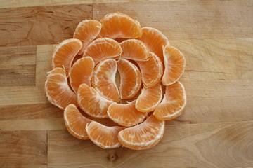 mandála de mandarinas
