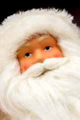 Christmas decorations - porcelain santa