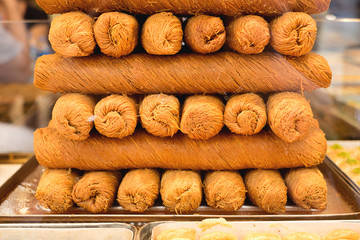 Typical Turkish pastries