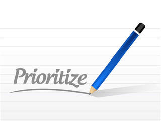prioritize message illustration design
