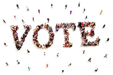 People that vote.