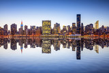 New York City Midtown Manhattan Skyline View