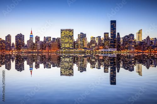 Foto op Aluminium New York New York City Midtown Manhattan Skyline View