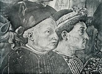 Cosimo I de Medici and cardinal Salviati (Gozzoli, 1459-61)