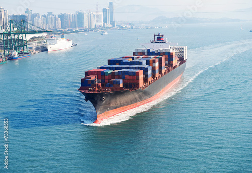 Large container ship - 73368553