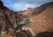 Central Gran Canaria, Barranco de Aldea, reservoir Presa de Para - 73369574
