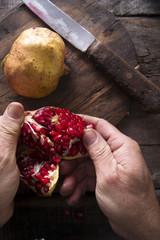 Pomegranate seeds