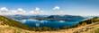 Panorama des Lago Maggiore in Italien