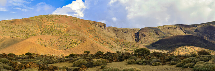 Alter Vulkan auf Teneriffa