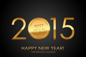 Certificate - 2015 Best Year! 100% Satisfaction Guaranteed! - Ve