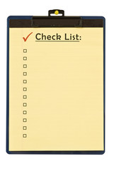 Checklist Revised