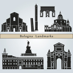 Bologna landmarks and monuments