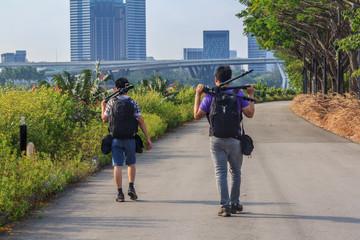 Photographers Sightseeing