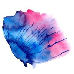 Watercolor vector spot