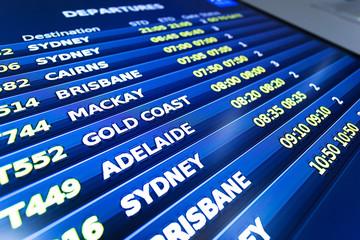flight information display screen board
