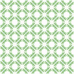 green tribal ethnic pattern