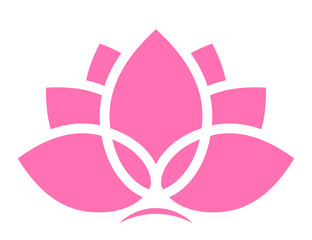 Vector lotus icon