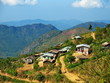 Village on the way from Kalaw town to Inle Lake in Myanmar - 73374786