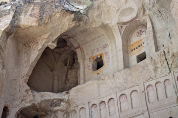 Cave church in Cappadocia