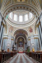 Esztergom Basilica interior, Esztergom, Hungary