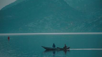 Fishermen on Lake