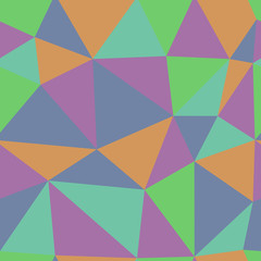 Pastel colorful triangle pattern. Geometric texture.
