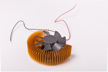 Printer cooling fan