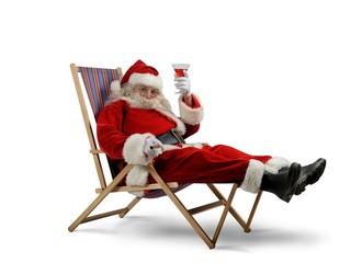 Santa claus relax