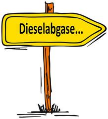 Dieselabgase...