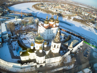 Aerial view on Holy Trinity Monastery
