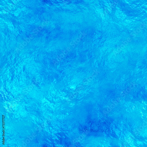 Seamless water texture, abstract pond background - 73377727